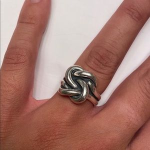 James Avery knot ring